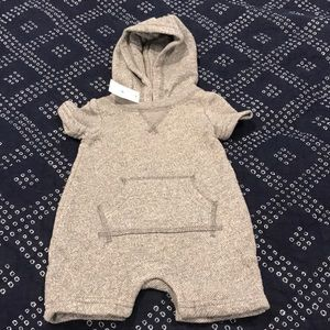 Baby gap sweatshirt ones piece knit outfit